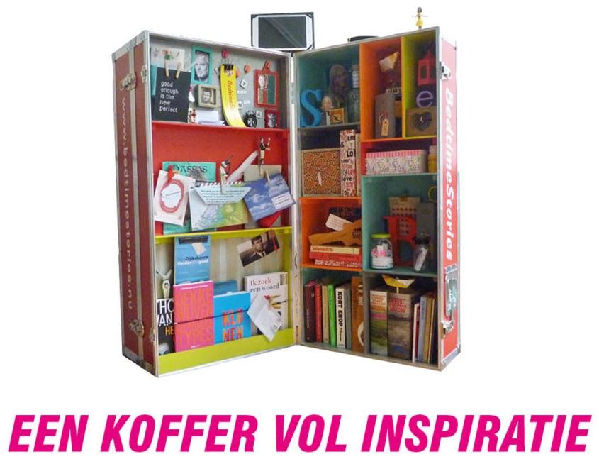 Koffer vol inspiratie en literaire en culturele schatten
