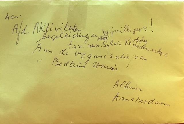 brief van Gill