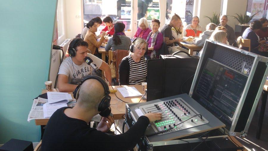 Guusje Eijbers bij Den Haag FM