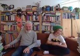 Leon en Jonathan op 1 mei